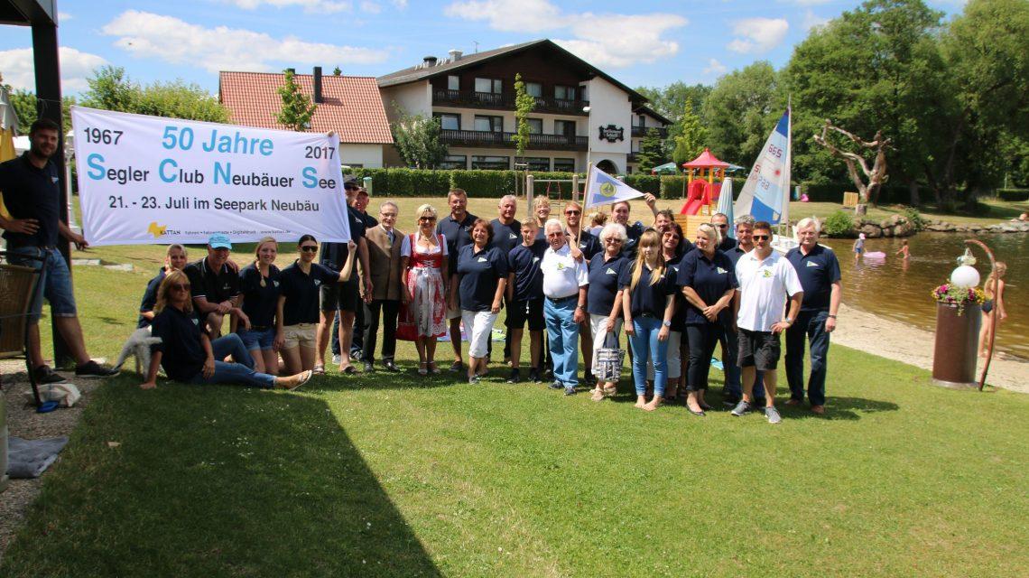 Schirmherrenbitten der Neubäuer Segler bei Bürgermeister Franz Reichold